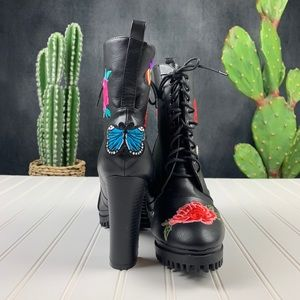 Penny Loves Kenny Shoes - 🆕Penny Loves Kenny Frank Patch Combat Boot   G303